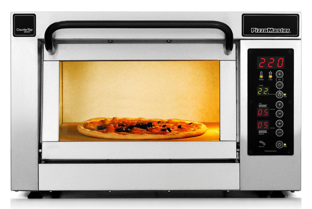 Four à pizza professionnel CounterTop 1 chambre de cuisson 1 niveau